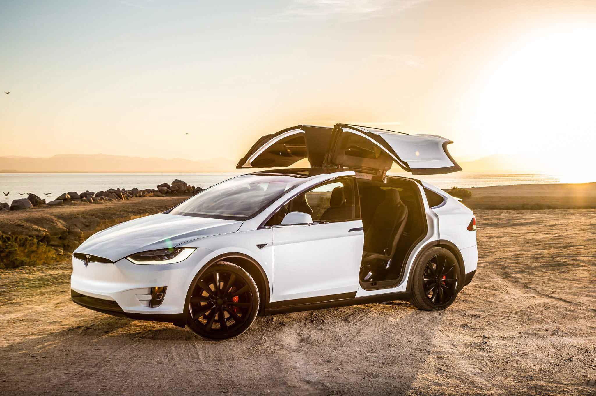 Tesla Model X Fiyatları - Tesla Elektrikli Araba Fiyatları