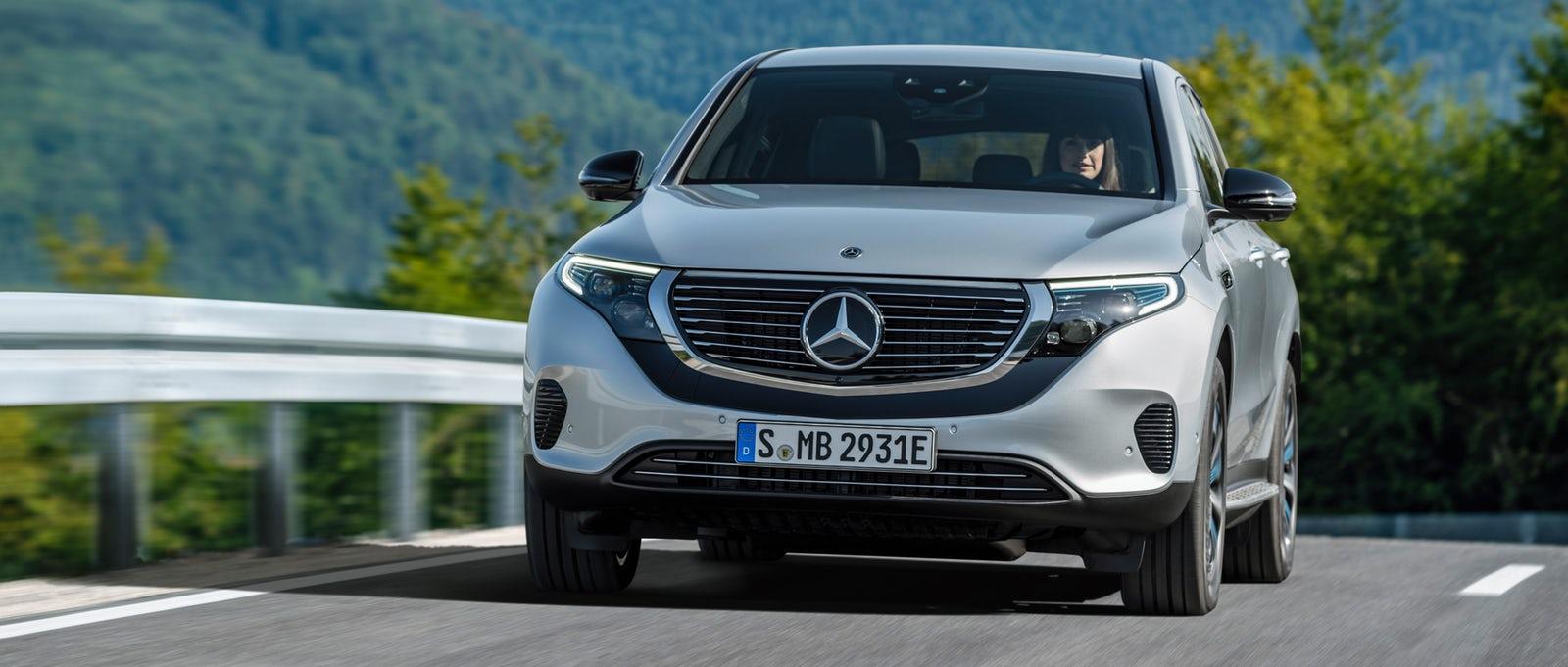 Mercedes elektrikli araba fiyatları - Mercedes Benz EQC elektrikli araba fiyatları
